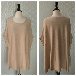 {Preston & York} Poncho Sweater